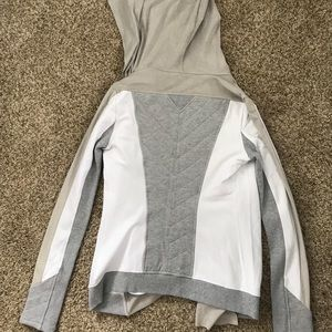 blanc noir Tops - Blanc Noir Size Small Drape Hoodie / Cardigan